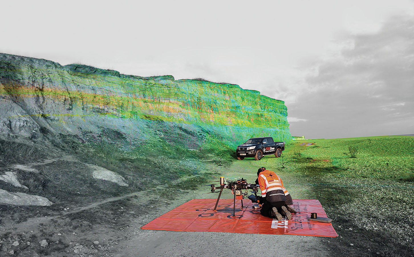 Unique Mobile Mapping System