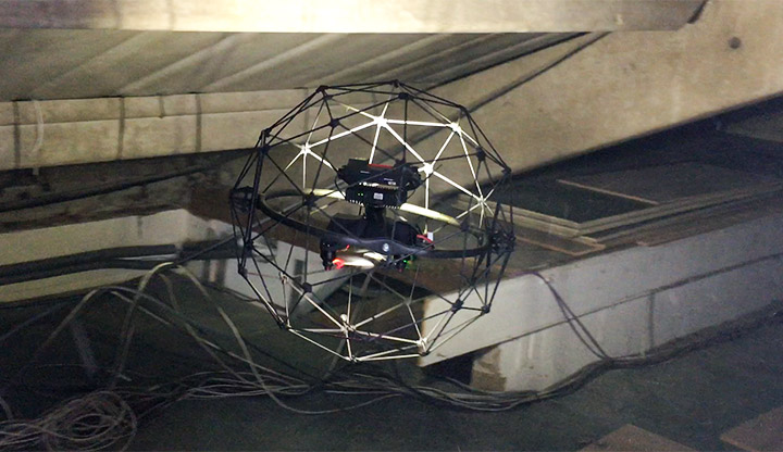 Texo DSI carries out a first for the global nuclear sector - internal UAV inspection of a