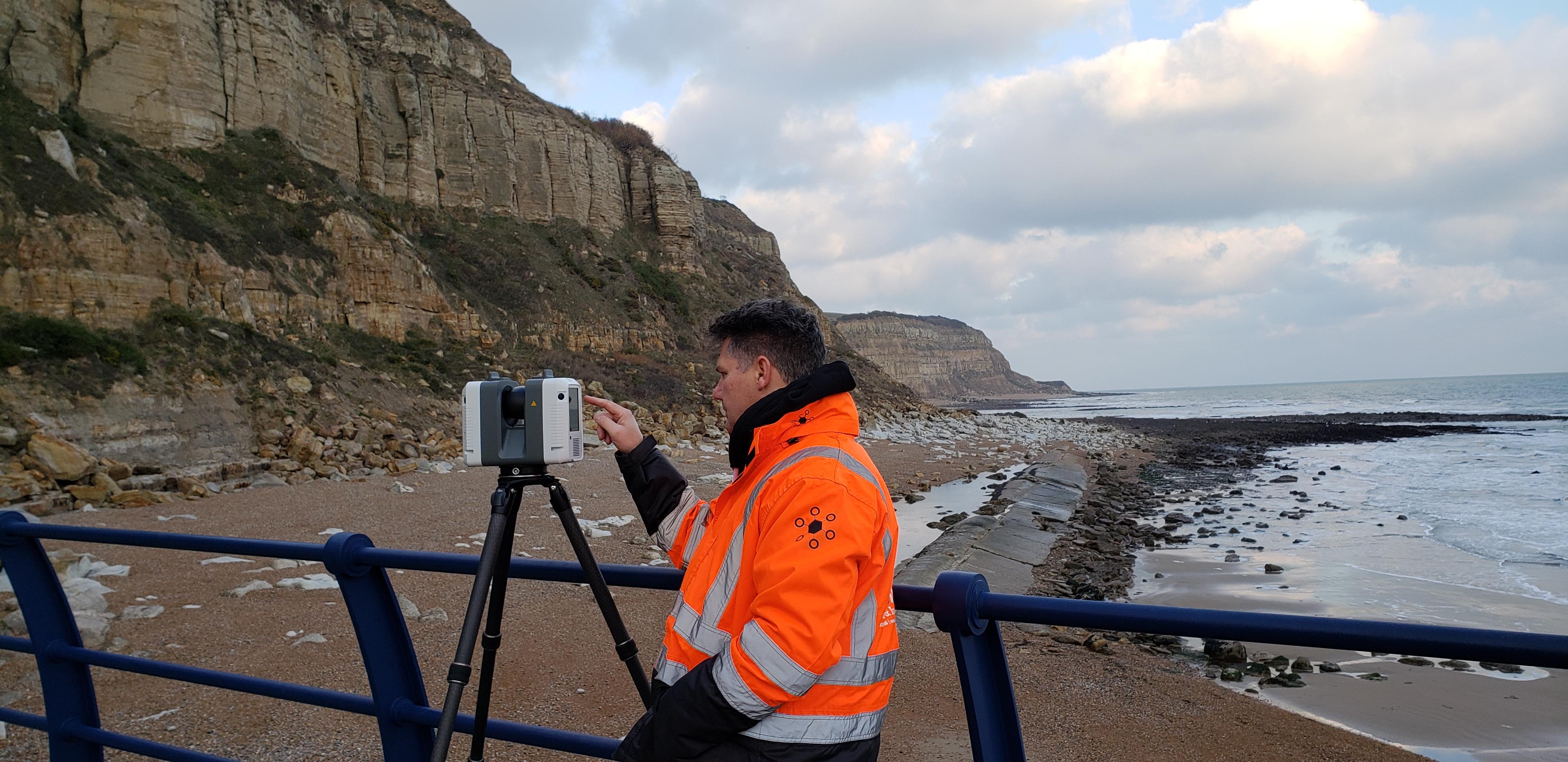 Texo Offshore and Coastal Surveying slide