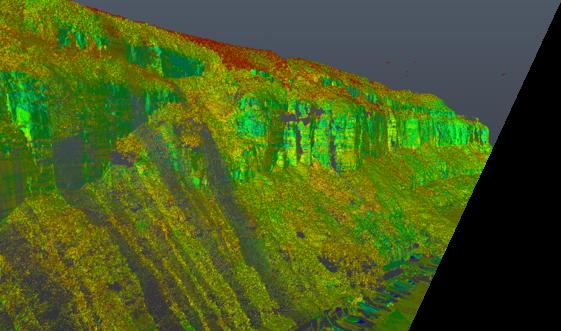 Using LiDAR to investigate erosion concerns