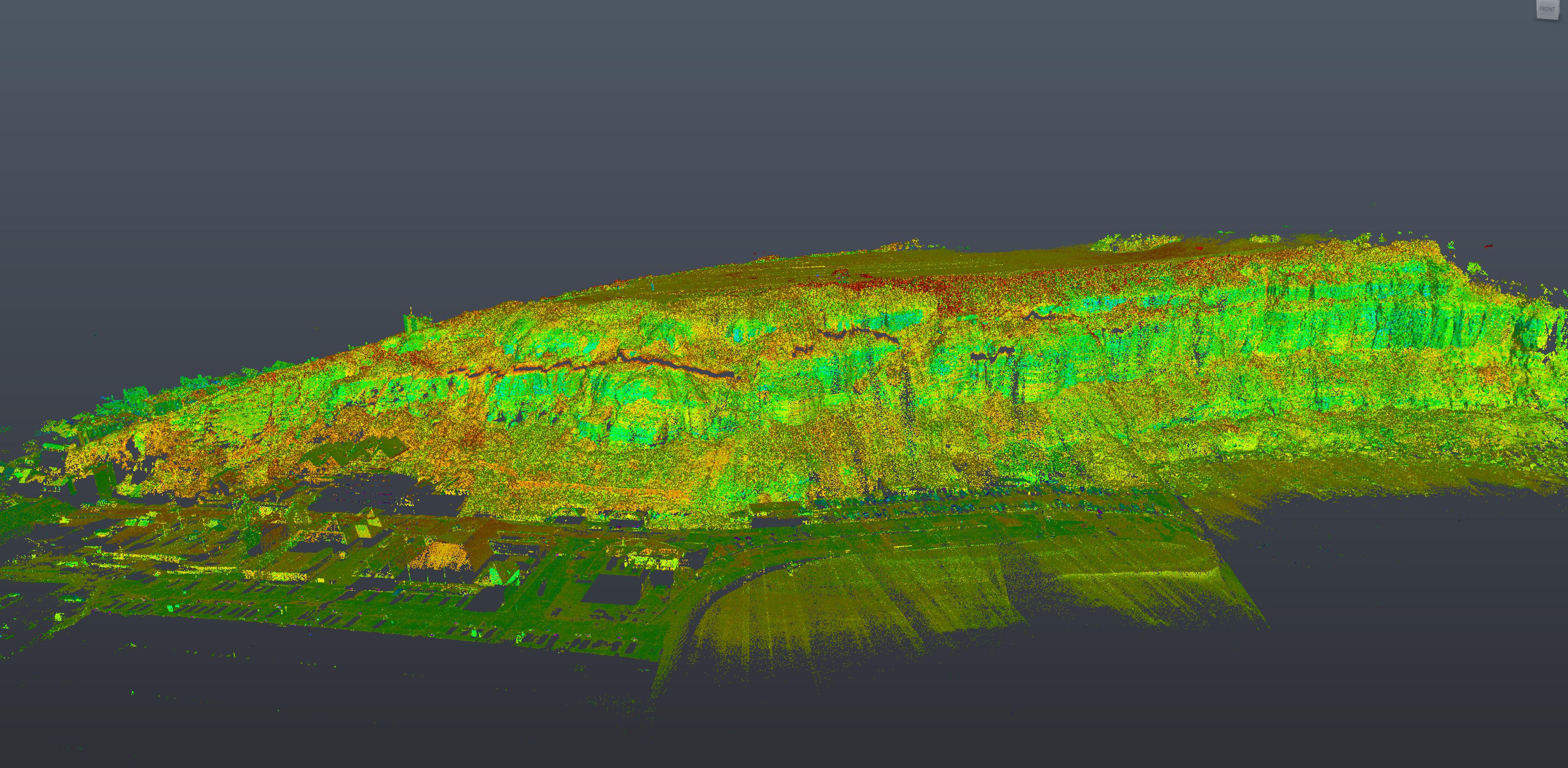 Texo Mobile LiDAR Mapping and Laser Scanning slide