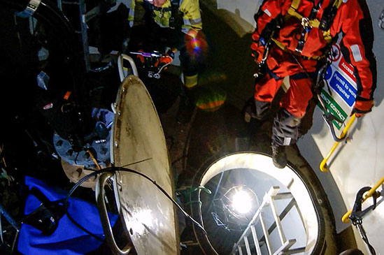 Texo Confined Space Survey & Hazardous Environment Inspection slide