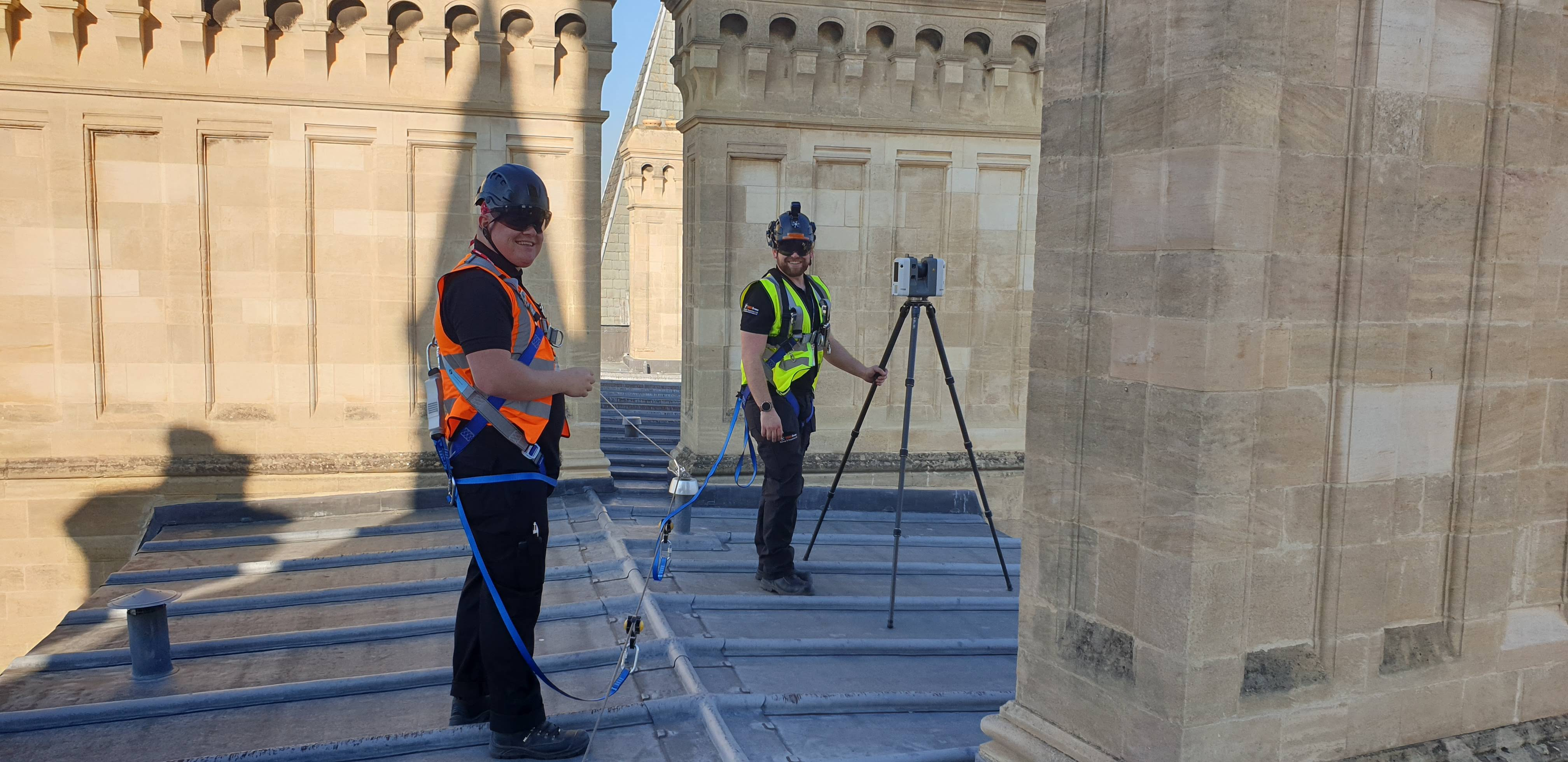 Heritage building inspection for a leading UK University