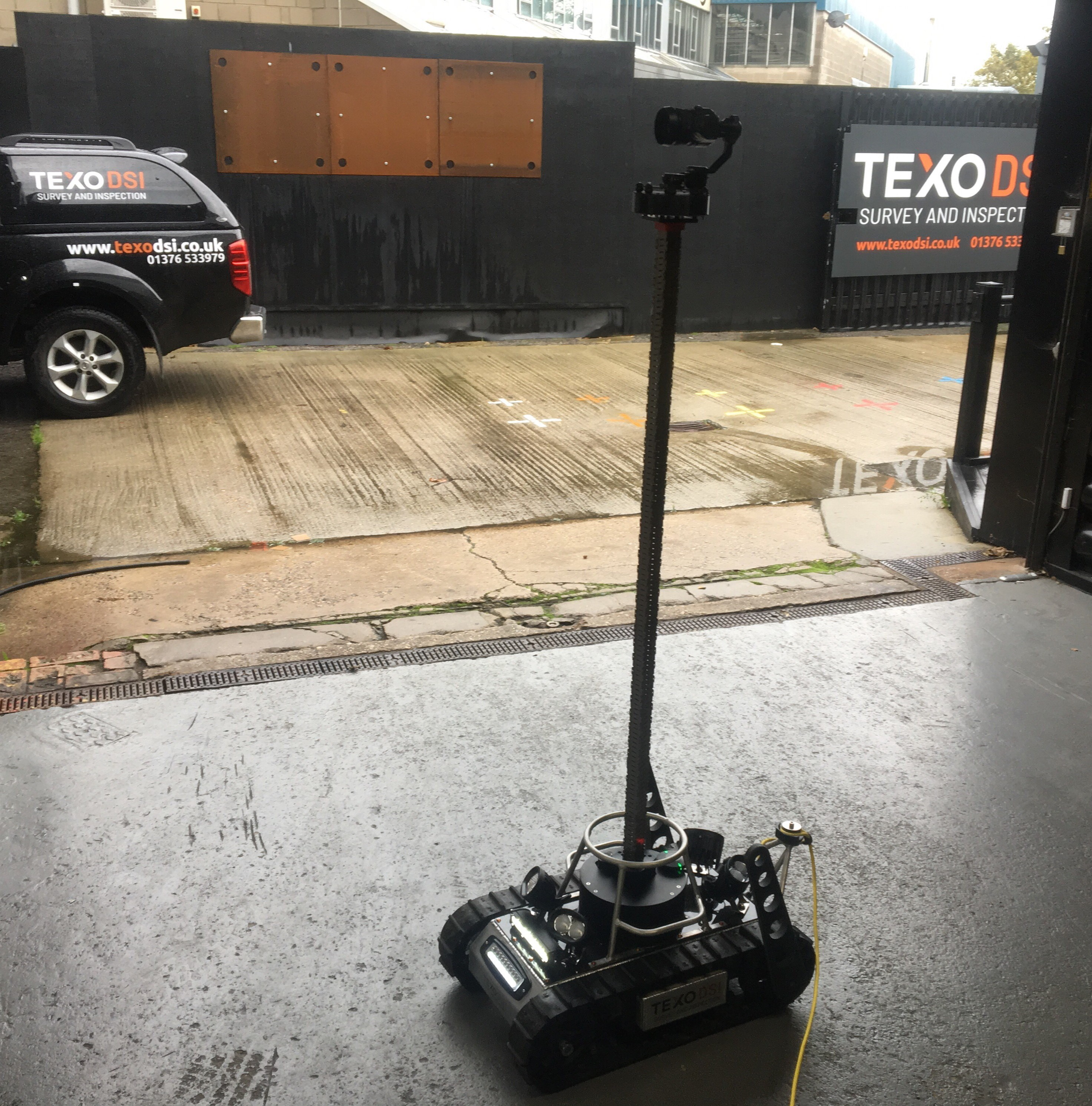 Texo DSI Launch State-of-the-Art Inspection Crawler Device