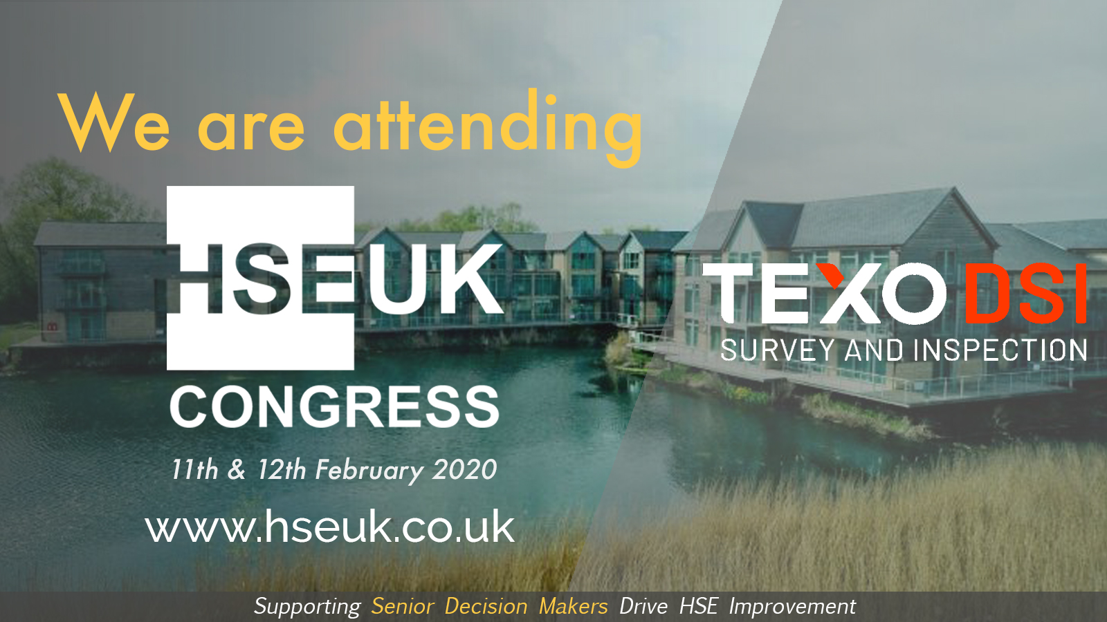Texo DSI to lead the discussion on drone technology at the HSEUK Congress 2020