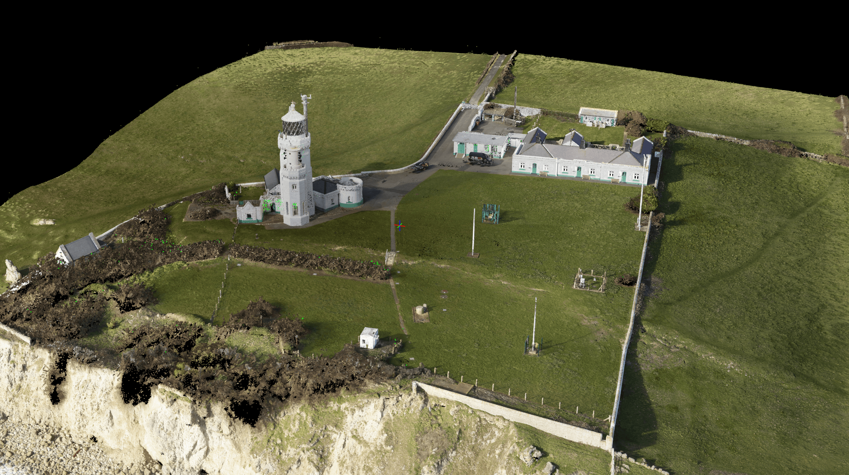 Texo DSI create a fully geo-referenced 3D point cloud of Victorian structure built in 1838!
