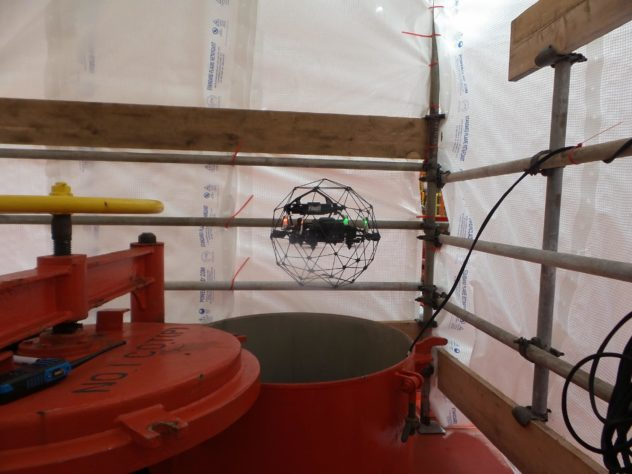 Texo Pioneers Unmanned Inspection Method on North Sea FPSO