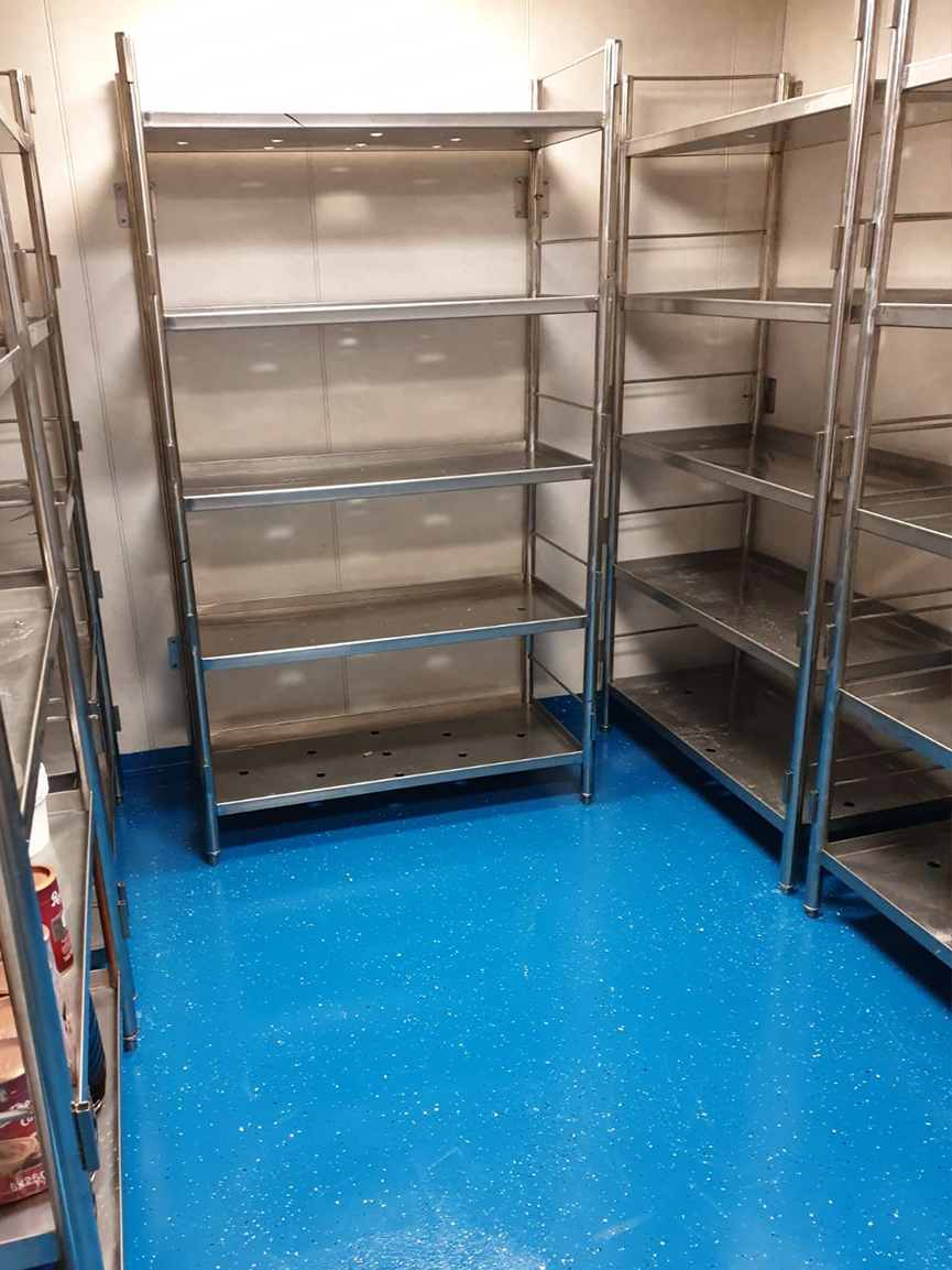 OFFSHORE WET-ROOM AND DRY STORE FLOOR REPLACEMENT