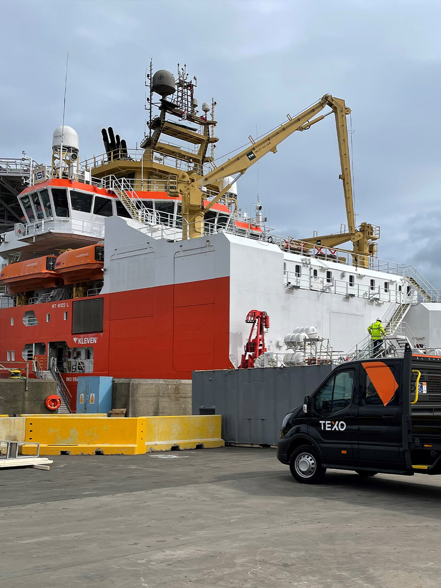Demob Project for Offshore Supply Vessel During COVID Restrictions