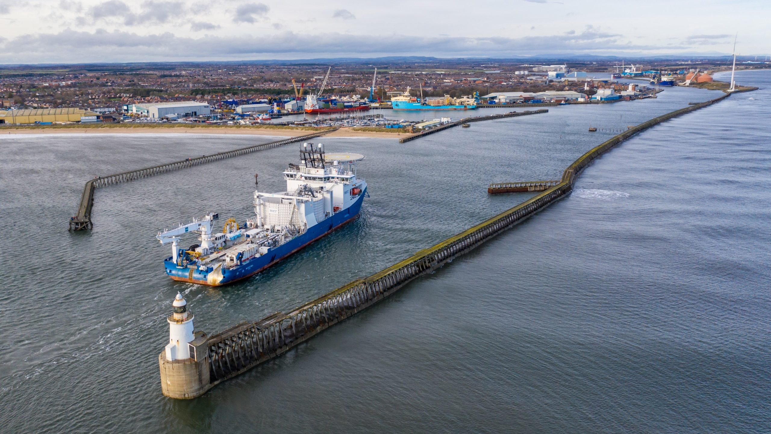 Investment and Expansion at Port of Blyth
